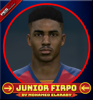 PES 2017 Faces Junior Firpo by M.Elaraby