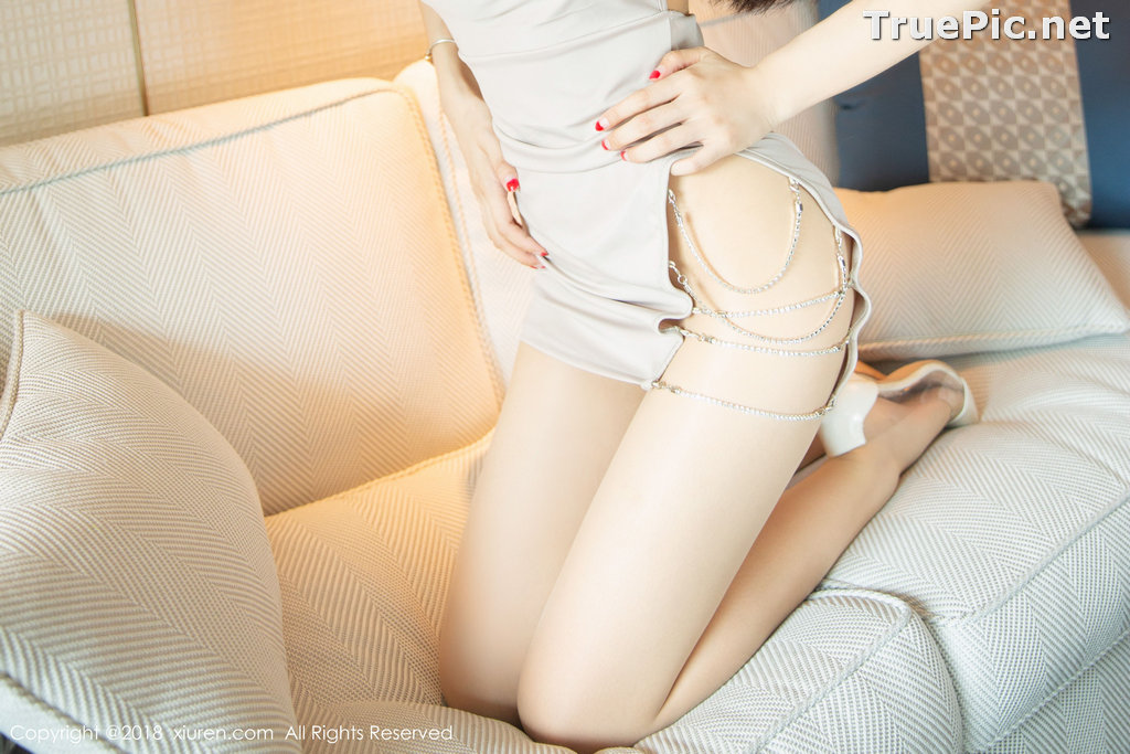 Image XIUREN No.1141 - Chinese Model - Xiao Reba (Angela小热巴) - Sexy Dress Tonight - TruePic.net - Picture-23