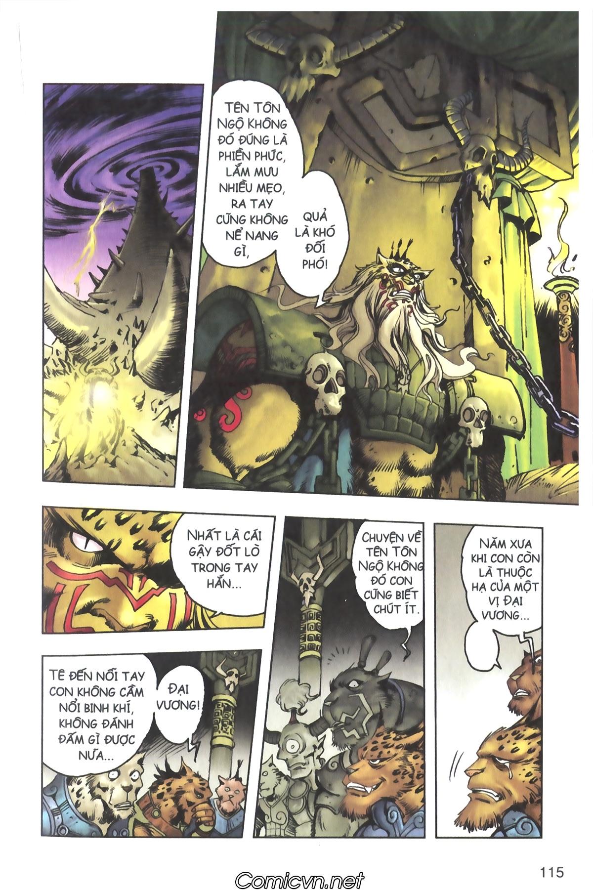 Tây Du Ký màu - Chapter 117 - Pic 25