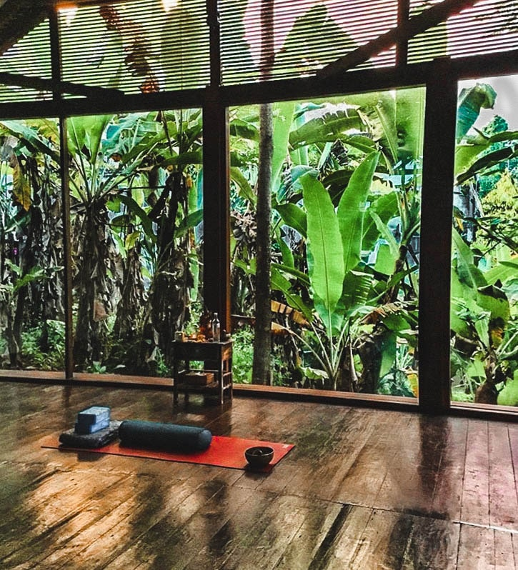 Yoga Class in Bali Indonesia