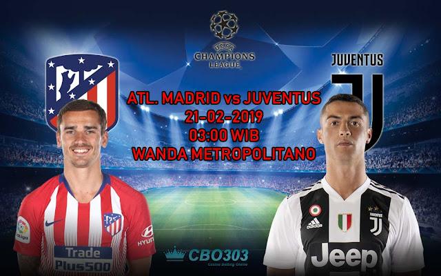 Prediksi Tepat Liga Champions Antara Atletico Madrid vs Juventus