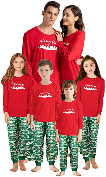 Christmas Family Pajamas Set    60% OFF