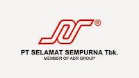 Lowongan Kerja PT Selamat Sempurna Tbk. (ADR Group)