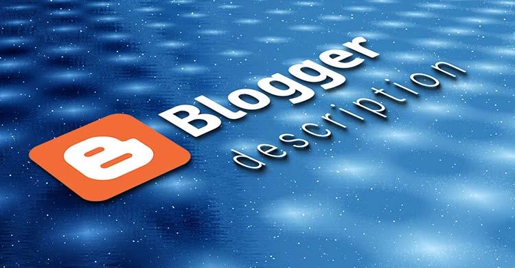 Kok Pengaturan Deskripsi DI Blogger Ada 2 Buah?