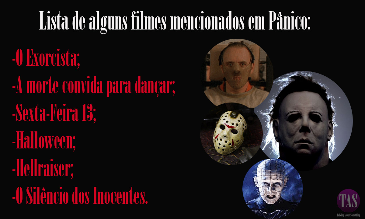 Filmes mencionados.