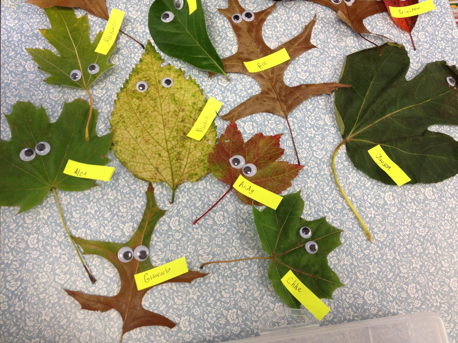 Mrs. Corino's Kindergarten Kiddos: Falling Leaves And Fire