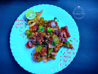 Easy chili paneer recipe