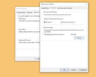 Cara Mudah Membuat / Setting Virtual Memory Windows 10, Work!