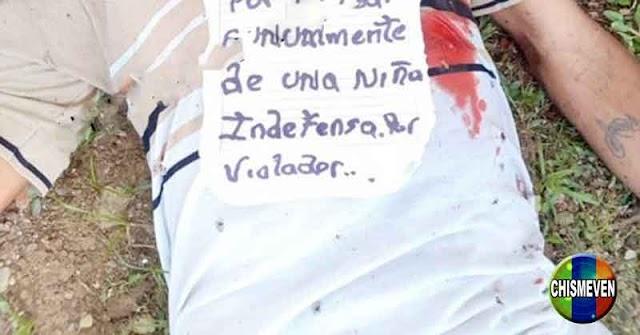 Lincharon a un sujeto que supuestamente abusó de una menor de edad en lo Valles del Tuy