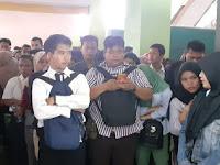 Ribuan Pencari Kerja Penuhi Aula Serba Guna Masjid Raya