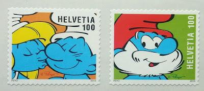 Switzerland Smurf 2013 Cartoon