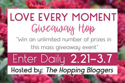 Moment Giveaway Hop