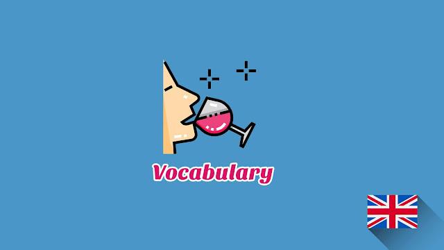 Kosakata Bahasa Inggris Rasa Disertai Gambar, Audio Dan Pronunciation