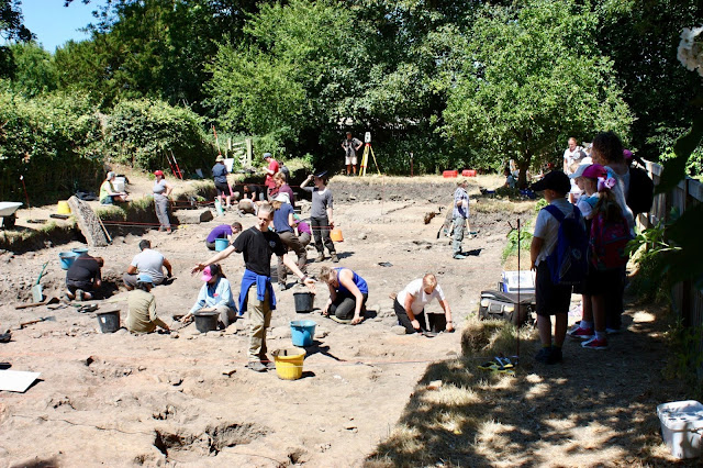 Archaeological dig unravels secrets to Ribchester's Roman past