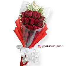 Hand Bouquet Mawar Segar