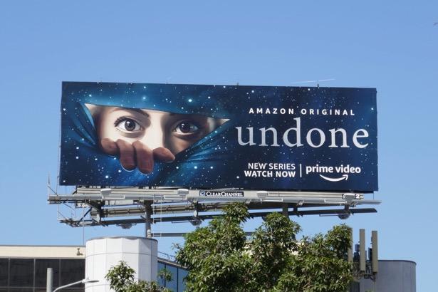 Undone series premiere billboard