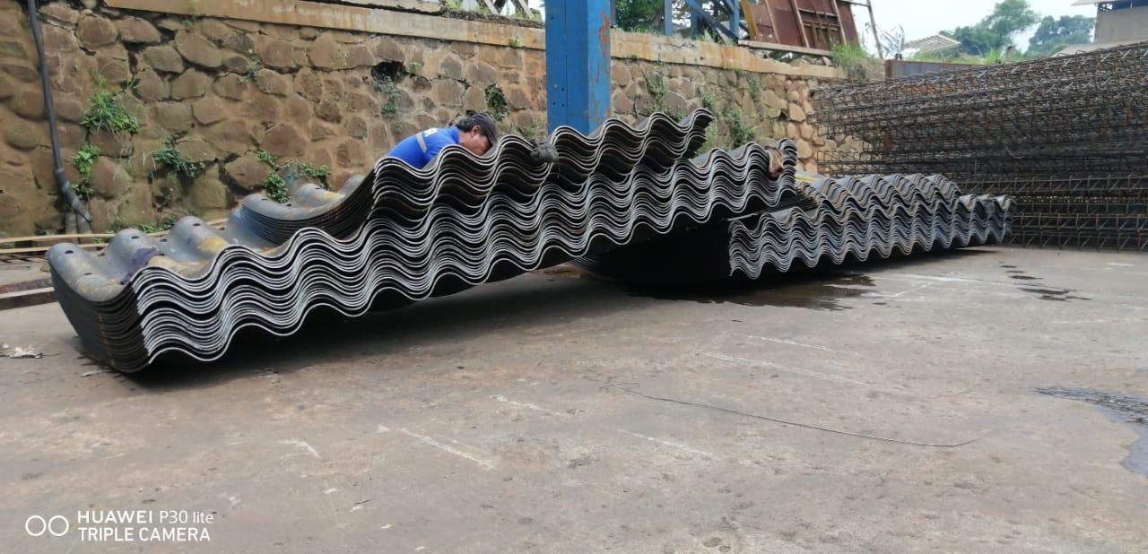 Tiang Lampu PJU MurahMulti Plate Pipe Gorong-gorong baja armco - Perlengkapan Jalan