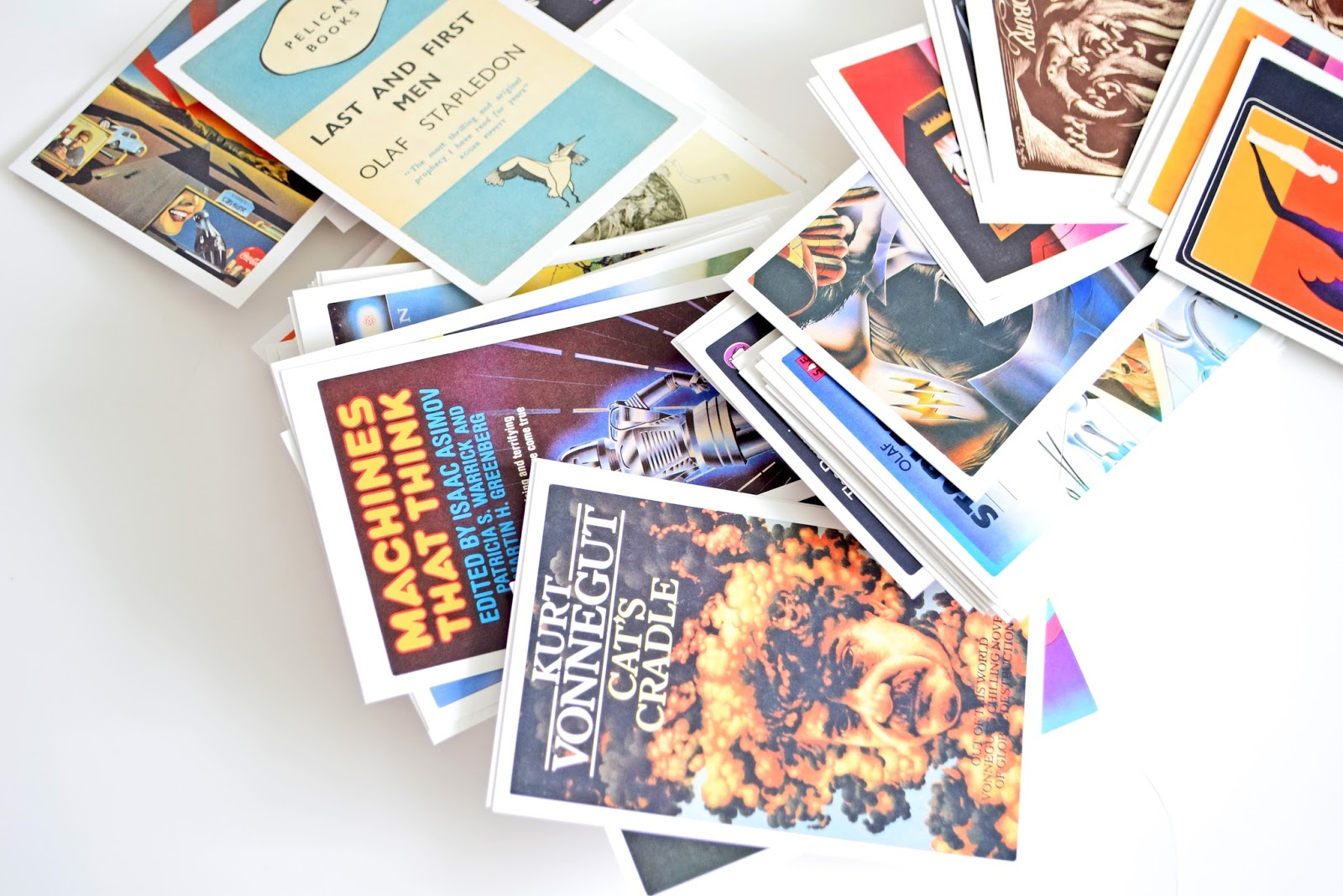 Science Fiction Collection Postcards