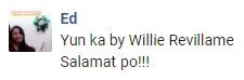 Yun Ka - Willie Revillame Request