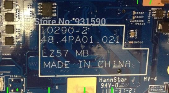 10290-2 Bios IBM Lenovo B570e 48.4PDA01.021 LZ57