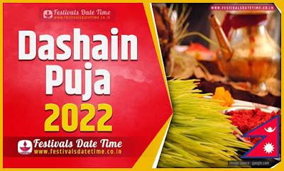 2022 Dashain Date Time, 2022 Dashain Nepali Calendar