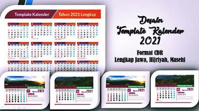 Kalender 2021 cdr download