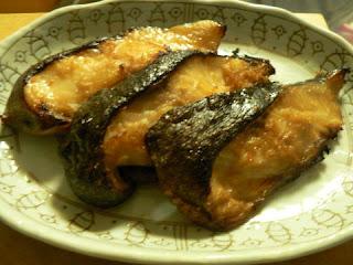 酒の肴 焼き魚 ギンダラ照り焼き
