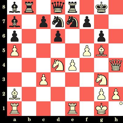 Les Blancs jouent et matent en 4 coups - Daniel Campora vs Turhan Yilmaz, Dubaï, 1986