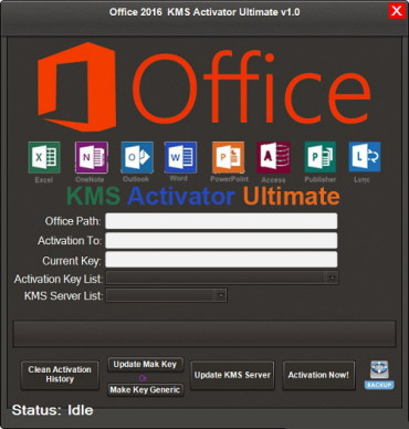 Office 2016 KMS Activator Ultimate 1 2 + Portable | Free