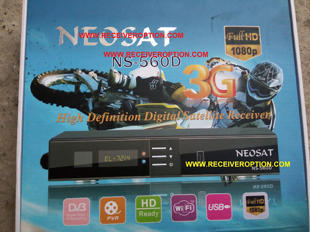 HOW TO CONNECT WIFI IN NEOSAT NS-560D HD RECEIVER