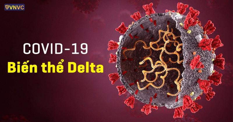 Biến thể Delta có thể truyền vi rút 2 ngày trước khi có triệu chứng