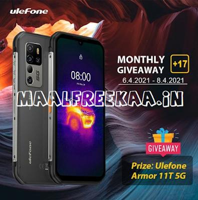 Free Ulefone Armor 11T 5G Smartphone