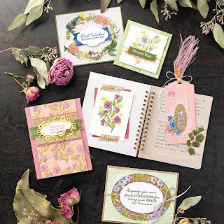Stampin' Up! Path of Petals Bundle ~ 2019-2020 Annual Catalog #stampinup