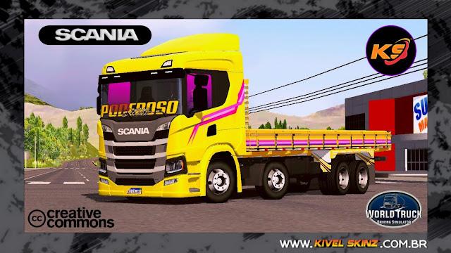 SCANIA P320 - AMARELO ORIGINAL