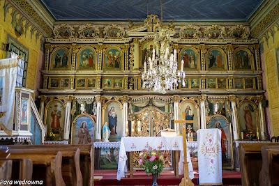 Ikonostas cerkwi św. Michała Archanioła w Dubnem