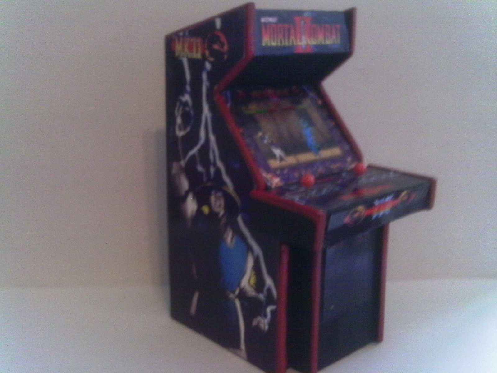 Retro Heart Mortal Kombat Series 1 2 Amp 3 Arcade Models