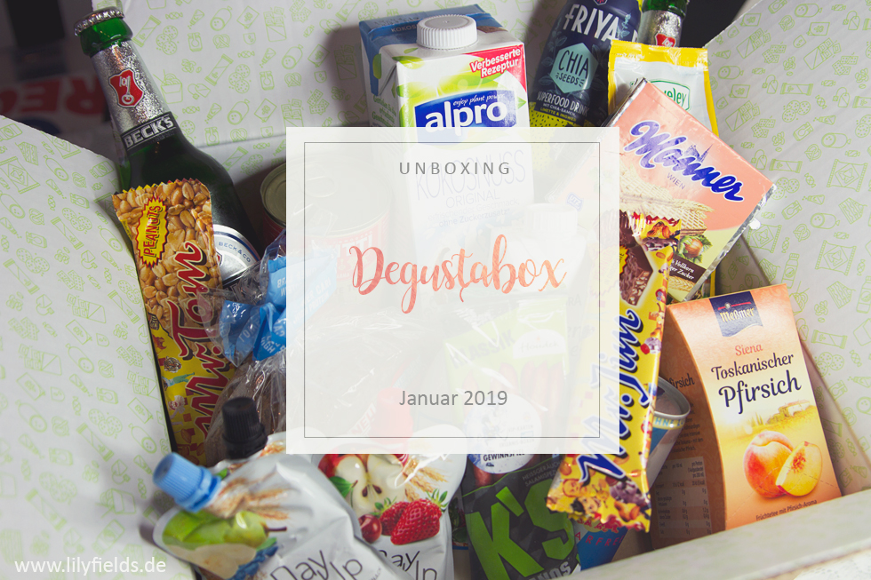 Degustabox - unboxing - Januar 2019