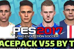 New Facepack V.55 For - PES 2017