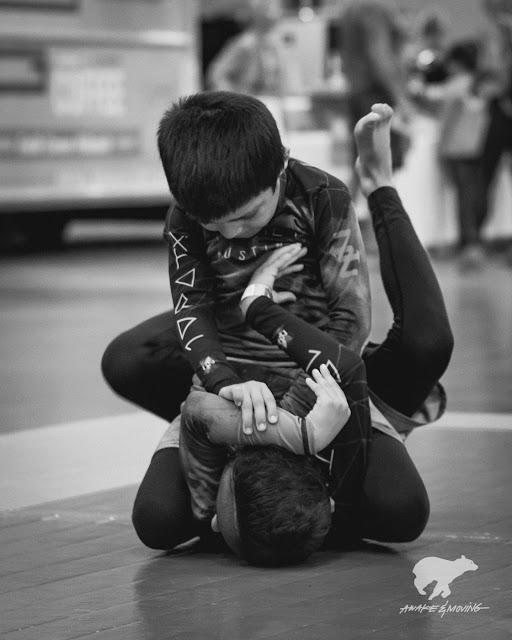 Little jiu jitsu rugrats.