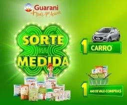 Cadastrar Promoção Açúcar Guarani Sorte Medida