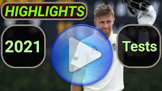 2021 Test Cricket Matches Highlights Online
