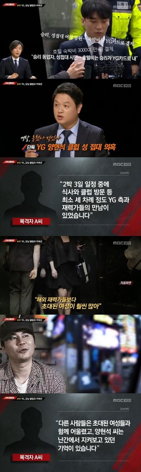 Yang Hyun Suk'un skandalının yaşandığı gece Hwang Hana da oradaymış