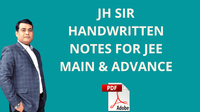 [PDF] Download JH Sir Physical And Inorganic Chemistry Notes For IIT JEE, Class 11, Class 12