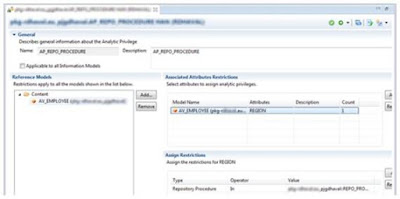 Dynamic Analytic Privileges Using Procedures in SAP HANA