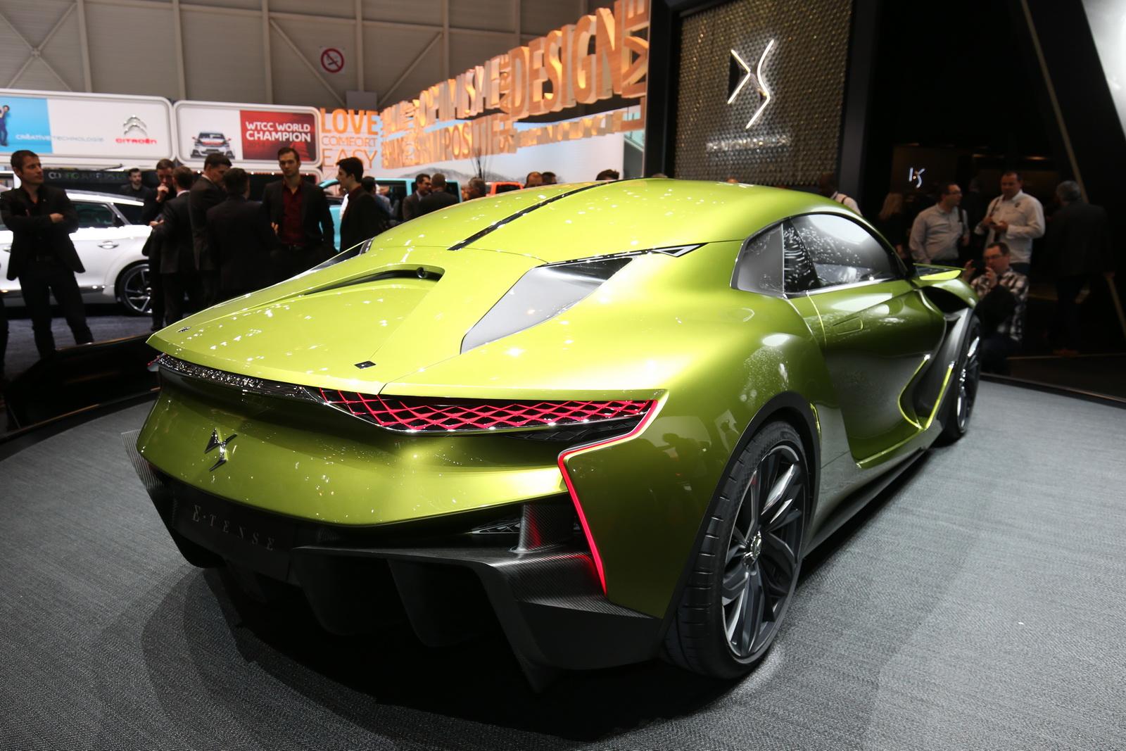 DS E-Tense Concept 2017 - Siêu xe thể thao điện đẹp hoàn hảo