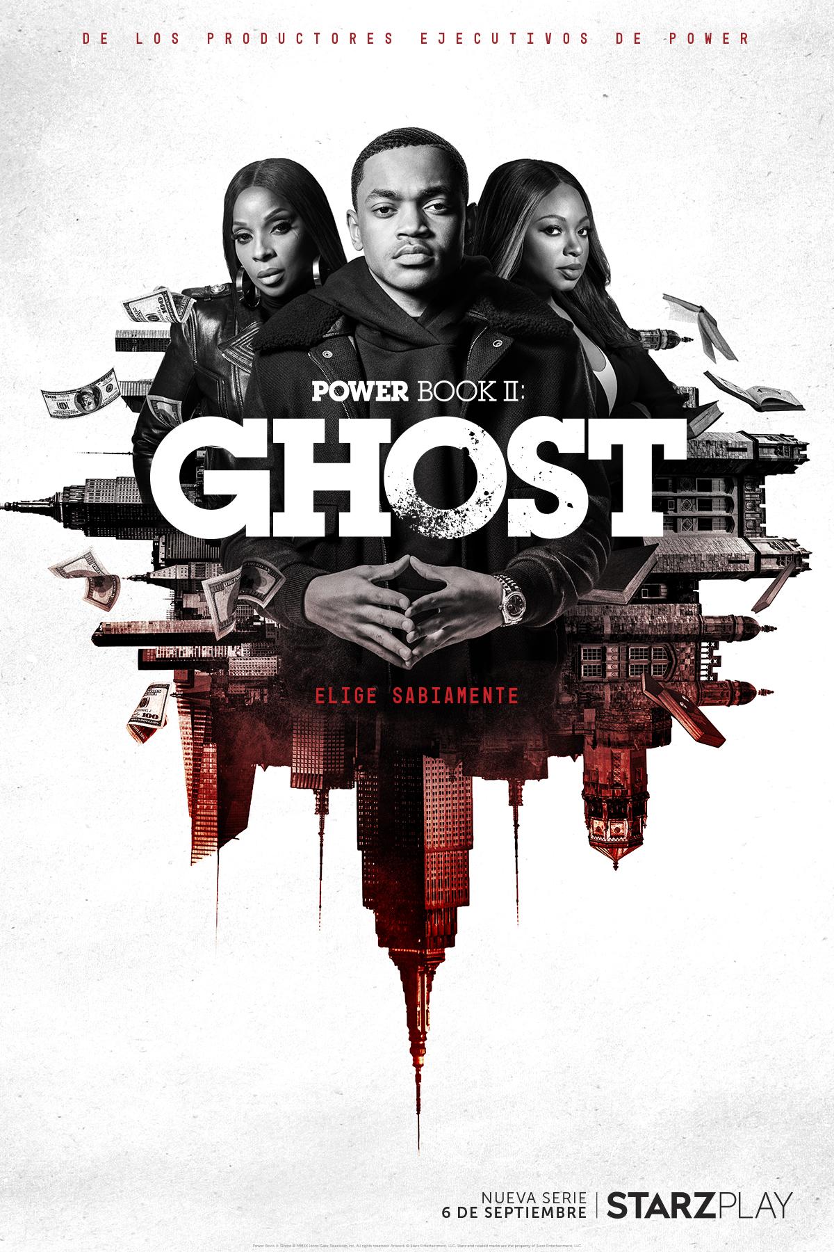 """STARZPLAY lanza la fecha de estreno mundial, póster y tráiler oficial de """"Power Book II: Ghost"""" Que Se Estrenará"""