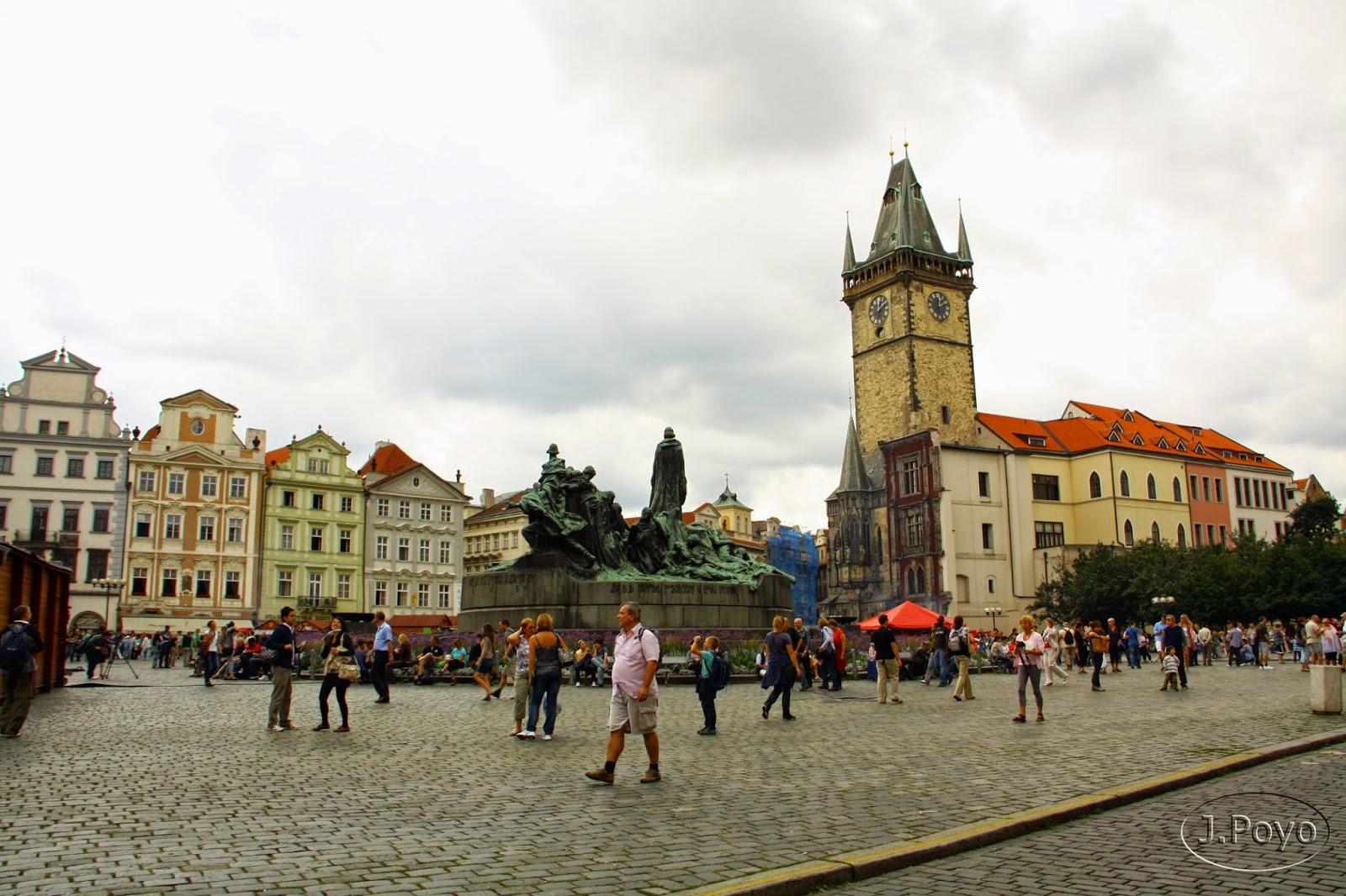 Monumento a Jan Hus de Praga