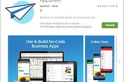 Appsheet Aplikasi Android Berbasis Data Spreadsheet/Excel Tanpa Koding