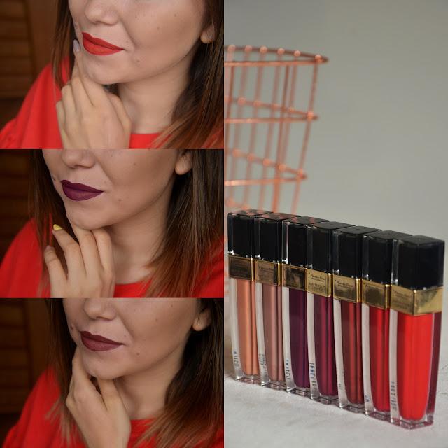 Matte Fluid Lipstic | Pierre Rene | Recenzja | Swatche