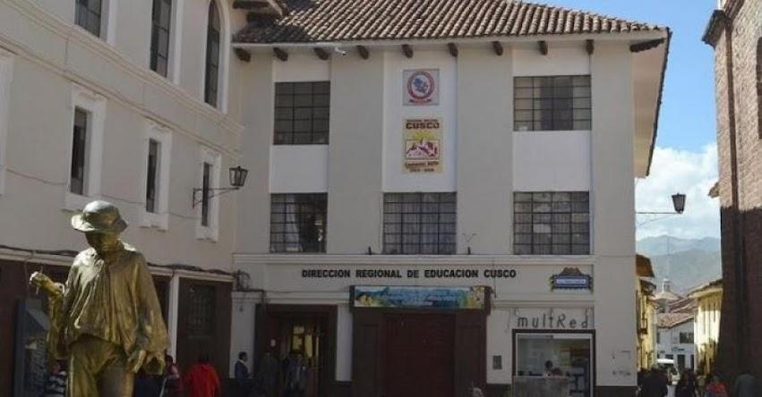 DRE Cusco: Más de mil trabajadores en modalidad CAS son despedidos en la región